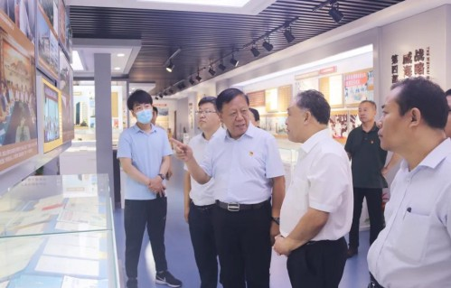淄博市委党校调研组到金城医药调研